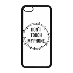 Don t Touch My Phone Apple Iphone 5c Seamless Case (black)
