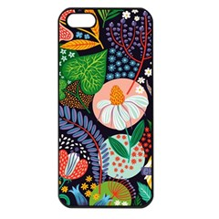 Japanese Inspired Apple Iphone 5 Seamless Case (black) by Brittlevirginclothing