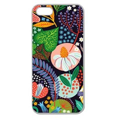 Japanese Inspired Apple Seamless Iphone 5 Case (clear) by Brittlevirginclothing