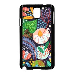 Japanese Inspired Samsung Galaxy Note 3 Neo Hardshell Case (black) by Brittlevirginclothing