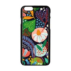 Japanese Inspired Apple Iphone 6/6s Black Enamel Case by Brittlevirginclothing