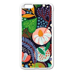 Japanese Inspired Apple Iphone 6 Plus/6s Plus Enamel White Case by Brittlevirginclothing