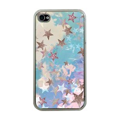 Pastel Stars Apple Iphone 4 Case (clear) by Brittlevirginclothing