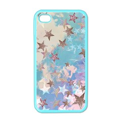 Pastel Stars Apple Iphone 4 Case (color) by Brittlevirginclothing