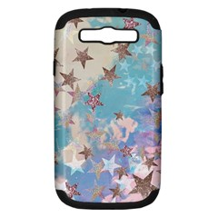 Pastel Stars Samsung Galaxy S Iii Hardshell Case (pc+silicone)