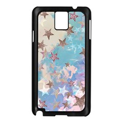 Pastel Stars Samsung Galaxy Note 3 N9005 Case (black) by Brittlevirginclothing