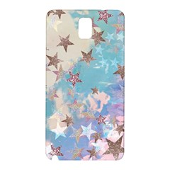 Pastel Stars Samsung Galaxy Note 3 N9005 Hardshell Back Case by Brittlevirginclothing