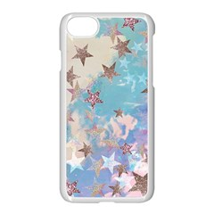 Pastel Stars Apple Iphone 7 Seamless Case (white)