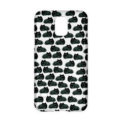 Black Cat Samsung Galaxy S5 Hardshell Case  by Brittlevirginclothing
