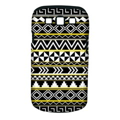 Black Bohemian Samsung Galaxy S Iii Classic Hardshell Case (pc+silicone) by Brittlevirginclothing