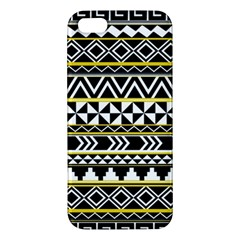 Black Bohemian Apple Iphone 5 Premium Hardshell Case by Brittlevirginclothing