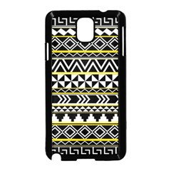 Black Bohemian Samsung Galaxy Note 3 Neo Hardshell Case (black) by Brittlevirginclothing