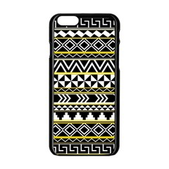 Black Bohemian Apple Iphone 6/6s Black Enamel Case by Brittlevirginclothing