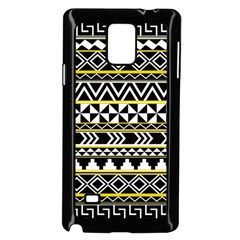 Black Bohemian Samsung Galaxy Note 4 Case (black) by Brittlevirginclothing