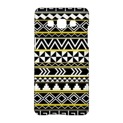 Black Bohemian Samsung Galaxy A5 Hardshell Case  by Brittlevirginclothing