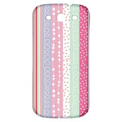 Pastel Colored  Wood Samsung Galaxy S3 S Iii Classic Hardshell Back Case by Brittlevirginclothing