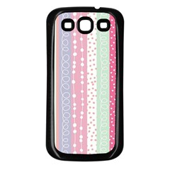 Pastel Colored  Wood Samsung Galaxy S3 Back Case (black) by Brittlevirginclothing