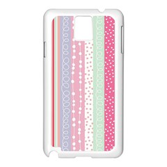 Pastel Colored  Wood Samsung Galaxy Note 3 N9005 Case (white) by Brittlevirginclothing