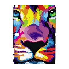 Colorful Lion Galaxy Note 1 by Brittlevirginclothing