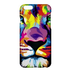 Colorful Lion Apple Iphone 6 Plus/6s Plus Hardshell Case by Brittlevirginclothing