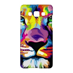 Colorful Lion Samsung Galaxy A5 Hardshell Case