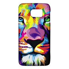 Colorful Lion Galaxy S6 by Brittlevirginclothing