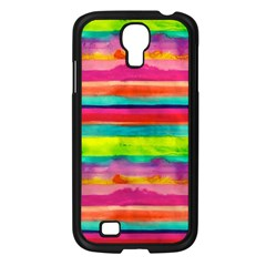 Painted Wet Paper Samsung Galaxy S4 I9500/ I9505 Case (black)