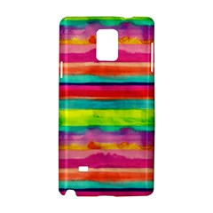 Painted Wet Paper Samsung Galaxy Note 4 Hardshell Case by Brittlevirginclothing