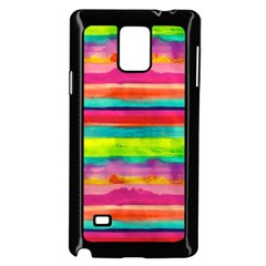 Painted Wet Paper Samsung Galaxy Note 4 Case (black)