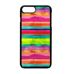 Painted Wet Paper Apple Iphone 7 Plus Seamless Case (black)