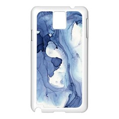 Paint In Water Samsung Galaxy Note 3 N9005 Case (white) by Brittlevirginclothing