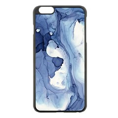 Paint In Water Apple Iphone 6 Plus/6s Plus Black Enamel Case