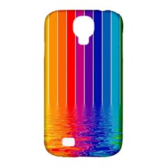 Faded Rainbow Samsung Galaxy S4 Classic Hardshell Case (pc+silicone)