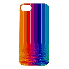 Faded Rainbow Apple Iphone 5s/ Se Hardshell Case by Brittlevirginclothing