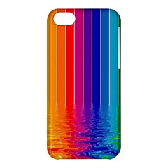 Faded Rainbow Apple Iphone 5c Hardshell Case by Brittlevirginclothing