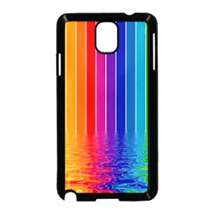 Faded Rainbow Samsung Galaxy Note 3 Neo Hardshell Case (black)