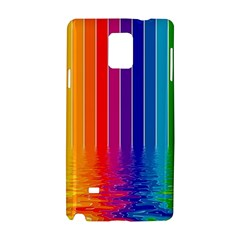 Faded Rainbow Samsung Galaxy Note 4 Hardshell Case