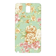 Vintage Pastel Flowers Samsung Galaxy Note 3 N9005 Hardshell Back Case by Brittlevirginclothing