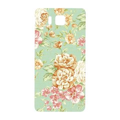Vintage Pastel Flowers Samsung Galaxy Alpha Hardshell Back Case by Brittlevirginclothing