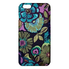 Dark Lila Flowers Iphone 6 Plus/6s Plus Tpu Case by Brittlevirginclothing