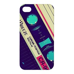 Vintage Casette  Apple Iphone 4/4s Premium Hardshell Case by Brittlevirginclothing