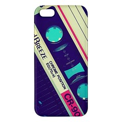Vintage Casette  Apple Iphone 5 Premium Hardshell Case by Brittlevirginclothing