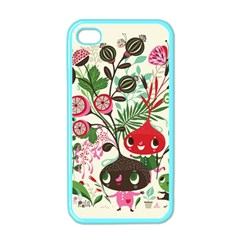 Cute Cartoon Characters Apple Iphone 4 Case (color) by Brittlevirginclothing