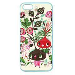 Cute Cartoon Characters Apple Seamless Iphone 5 Case (color) by Brittlevirginclothing