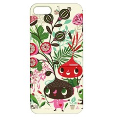 Cute Cartoon Characters Apple Iphone 5 Hardshell Case With Stand by Brittlevirginclothing