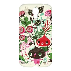 Cute Cartoon Characters Samsung Galaxy S4 I9500/i9505 Hardshell Case by Brittlevirginclothing