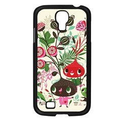 Cute Cartoon Characters Samsung Galaxy S4 I9500/ I9505 Case (black) by Brittlevirginclothing