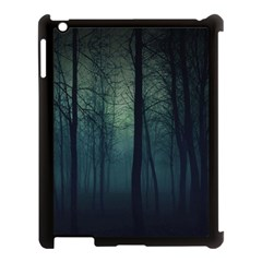 Dark Forest  Apple Ipad 3/4 Case (black) by Brittlevirginclothing