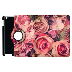 Pink Roses Apple Ipad 3/4 Flip 360 Case by Brittlevirginclothing