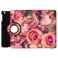 Pink Roses Apple Ipad Mini Flip 360 Case by Brittlevirginclothing